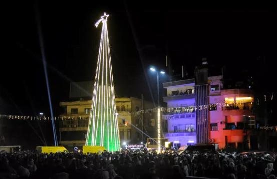Natal di Suriah.