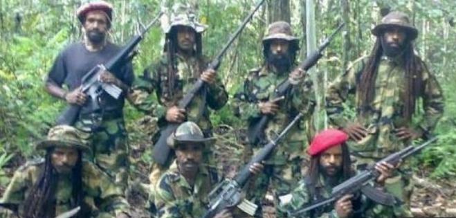 Kelompok separatis pimpinan Egianus Kogoya di Papua.