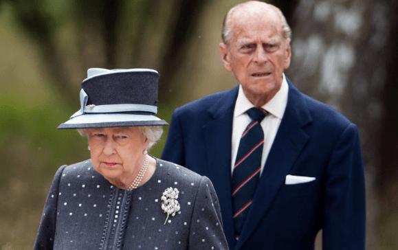 Ratu Elizabeth dan Pangeran Philips.