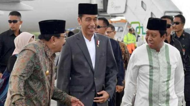 Jokowi dan Romahurmuziy.
