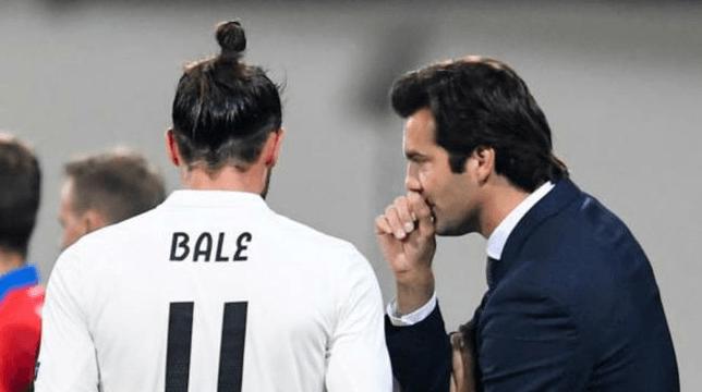Solari dan Gareth Bale.