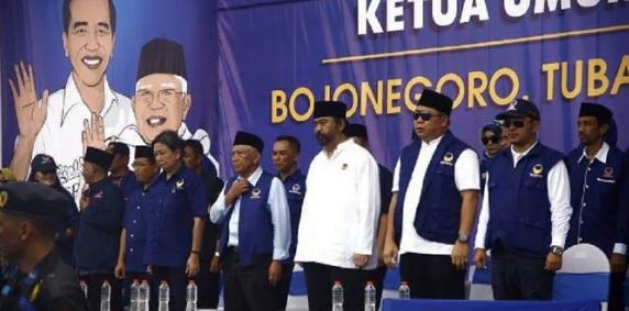 Surya Paloh Hadiri Temu Kader NasDem di Tuban.