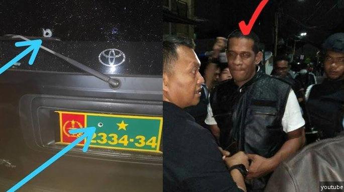 Pelaku penembakan Letkol CPM Dono Kuspriyanto ditangkap.