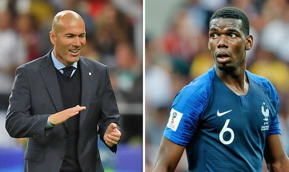 Zidane dan Pogba.