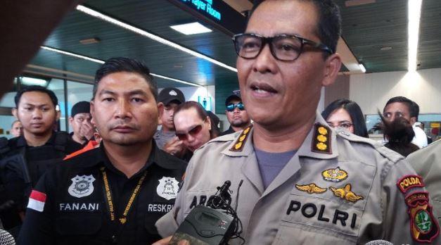 Kabid Humas Polda Polda Metro Jaya, Kombes Pol Argo Yuwono.