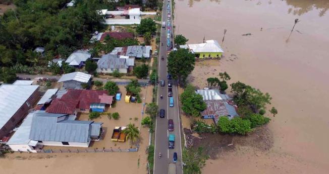 Banjir Gorontalo.(foto:istimewa)