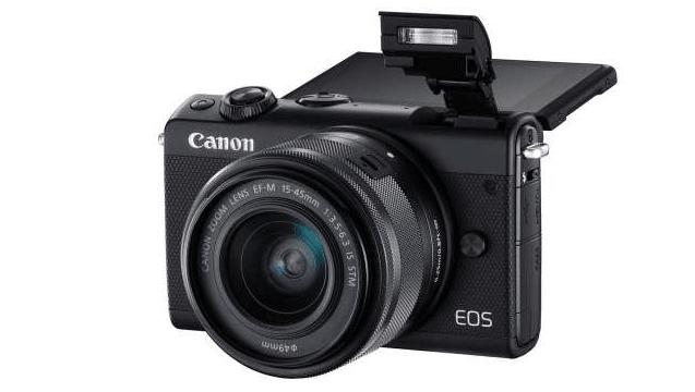 Ilustrasi salah satu kamera mirrorless, Canon Mirrorless EOS M100.(Datascrip)