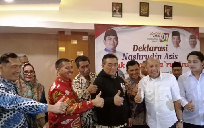 Wali Kota Cirebon Nasrudin Azis memilih mendukung pasangan Joko Widodo-Ma'ruf Amin di Pilpres 2019.