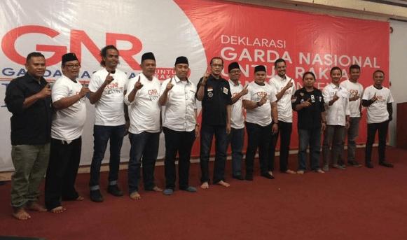 Relawan GNR Banten.