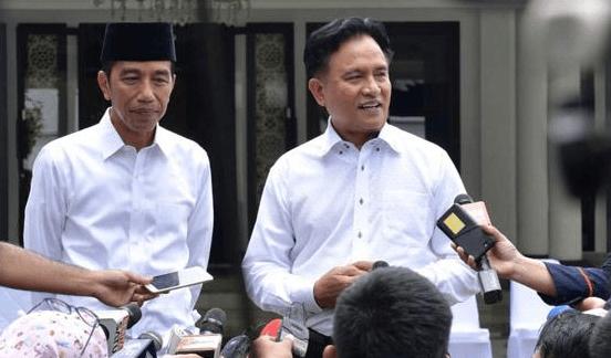 Jokowi dan Yusril.