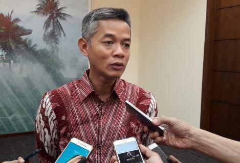 Komisioner KPU Wahyu Setiawan.