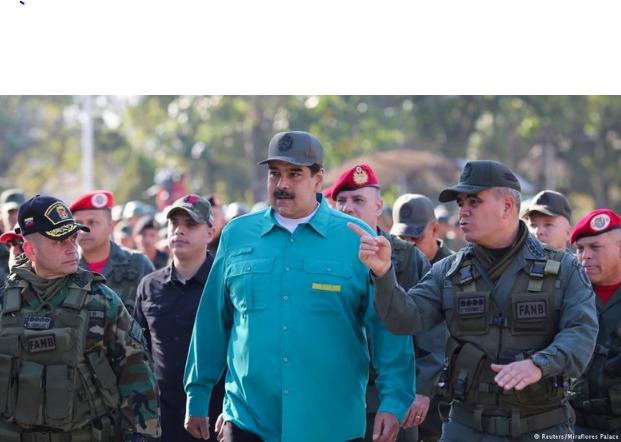 Presiden Venezuela Nicolas Maduro tetap didukung pihak militer (Foto: DW (News)