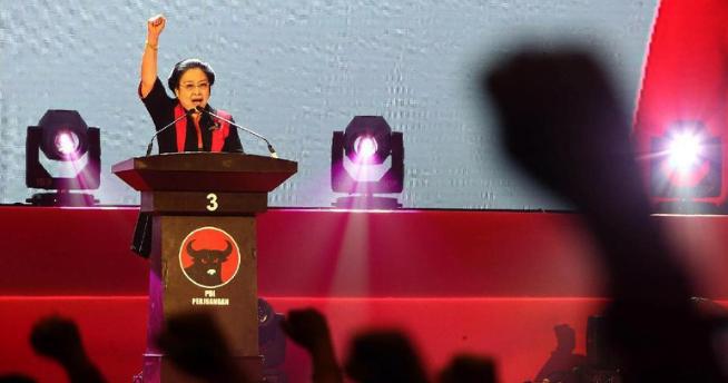 Megawati Soekarno Putri.