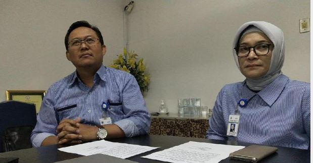 Direktur Medik dan Keperawatan RSCM dr Sumaryono (kiri) serta Dirut RSCM dr Lies Dina Liastuti (kanan).