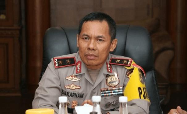 Kapolda Sumatera Selatan Irjen Pol Zulkarnain Adinegara.