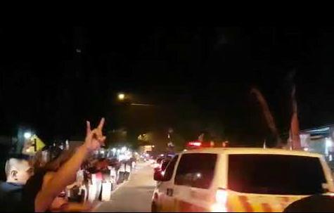 Rombongan Sandiaga saat di teriaki di Wonogiri.(YouTube)