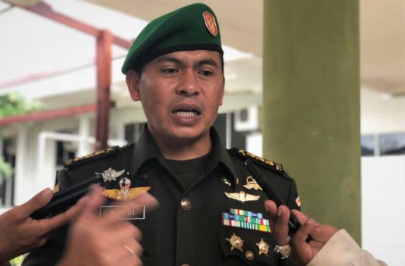 Kapendam XVII/Cenderawasih, Kolonel Inf Muhammad Aidi.