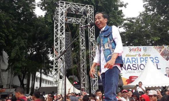 Calon Presiden nomor urut 01 Joko Widodo (Jokowi).