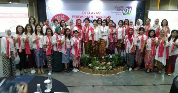 Deklarasi relawan 'Pertiwi Jokowi' di Semarang.