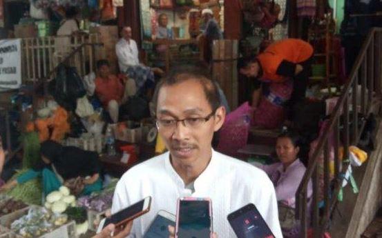 Ketua Umum Komite Pedagang Pasar (KPP) Abdul Rosyid Arsyad.(foto:Istimewa)