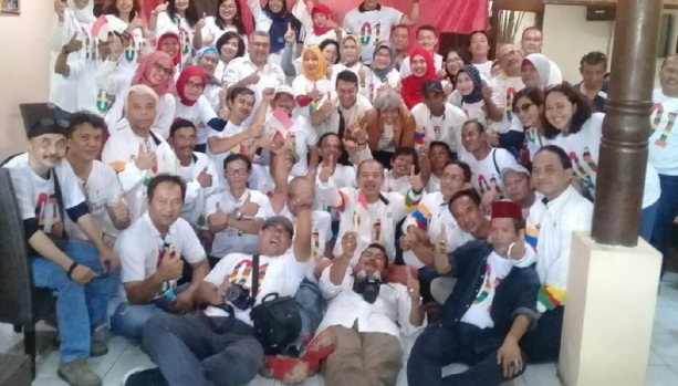 Relawan atas nama Alumni SMA 47 Jakarta dukung Jokowi-Ma'ruf Amin (Dok. Istimewa)