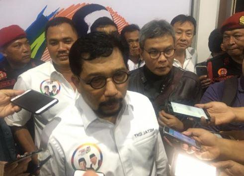 Ketua Tim Kampanye Daerah (TKD) Jokowi-Ma'ruf Amin untuk Jatim, Irjen Pol (Purn) Machfud Arifin.