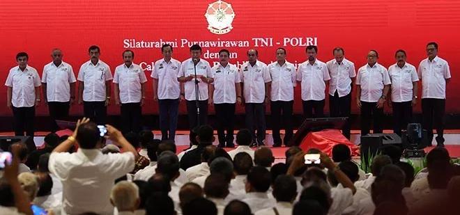 Deklarasi dukungan Purnawirawan TNI-Polri ke Jokowi-Ma'ruf Amin.
