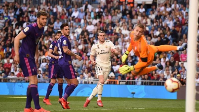 Gareth Bale mencetak satu gol untuk membawa Real Madrid menang 2-0 atas Celta Vigo. (Foto: Denis Doyle/Getty Images)