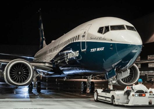 Boeing 737 MAX 8.