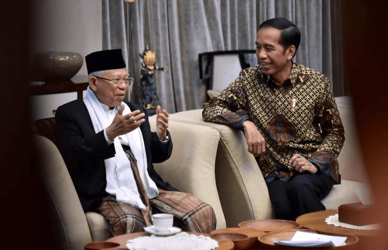 Jokowi dan Ma'ruf Amin.(Foto: dok. Istimewa)