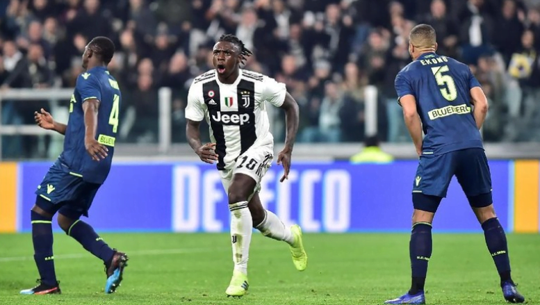 Moise Kean jadi bintang kemenangan Juventus saat menghadapi Udinese.