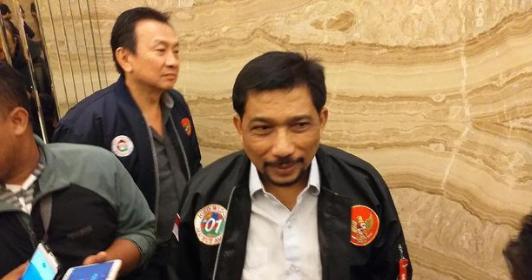 Ketua Tim Kampanye Daerah Jawa Timur Irjen Pol (Purn) Machfud Arifin.