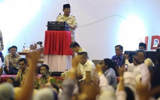 Prabowo Subianto (Dok. Prabowo-Sandi Media Center).
