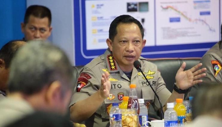 Kapolri Jenderal Tito Karnavian (Foto: dok. Istimewa).
