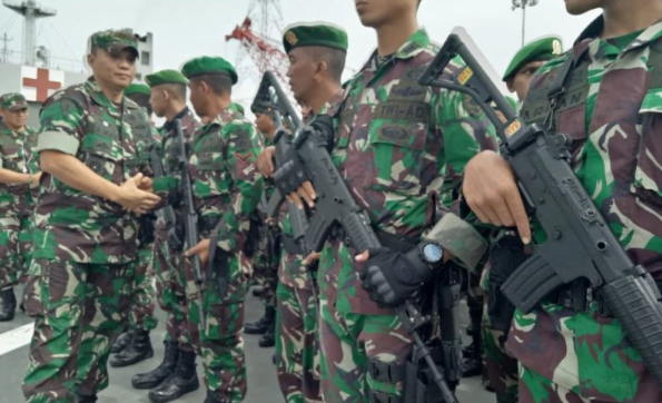 Komandan Korem 172/Praja Wira Yakti Kol Jonathan Binsar Sianipar.