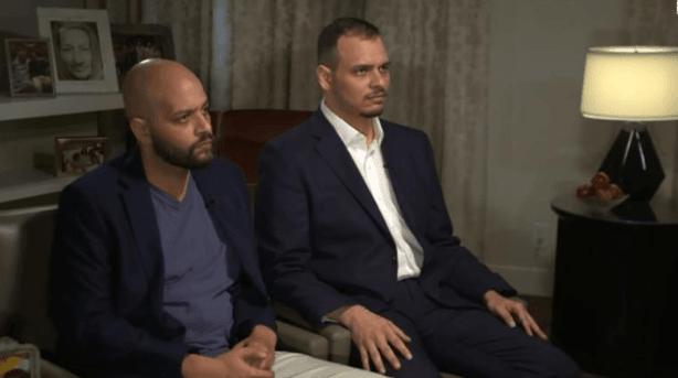 Dua anak laki-laki Khashoggi, Abdullah Khashoggi (kiri) dan Salah Khashoggi (kanan) (CNN).