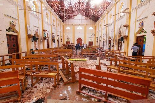 Teror bom Sri Lanka.