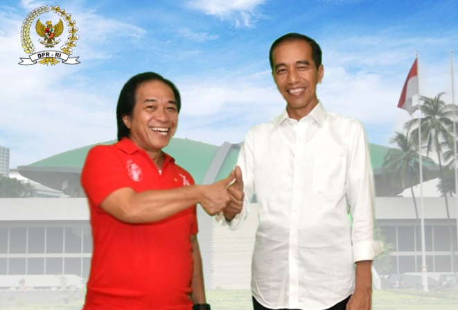 Budi Ace dan Jokowi.