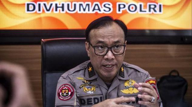 Kepala Biro Penerangan Masyarakat Divisi Humas Polri Brigjen Pol Dedi Prasetyo.