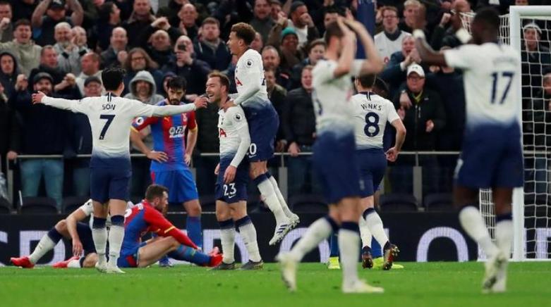 Tottenham Hotspur menang 2-0 atas Crystal Palace dalam lanjutan Liga Inggris (Foto: Reuters)
