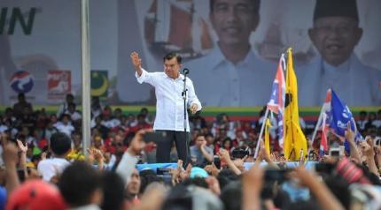 JK kampanyekan Jokowi di Makassar (Dok. Istimewa)