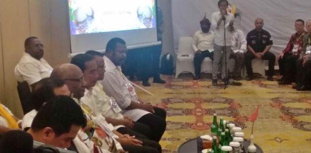 Pertemuan tertutup Jokowi bersama elemen Tim Kampanye Nasional.