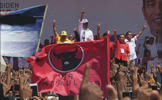 Jokowi kampanye di Kupang, NTT.