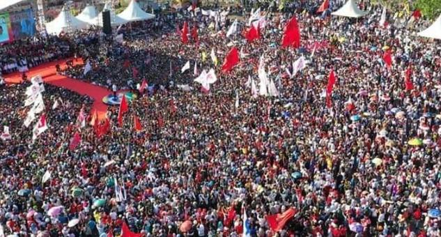 Kampanye Jokowi di Batam.