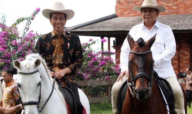 Jokowi dan Prabowo.