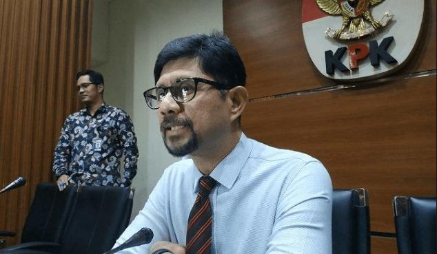 Wakil Ketua KPK Laode M Syarif di gedung KPK Jakarta.