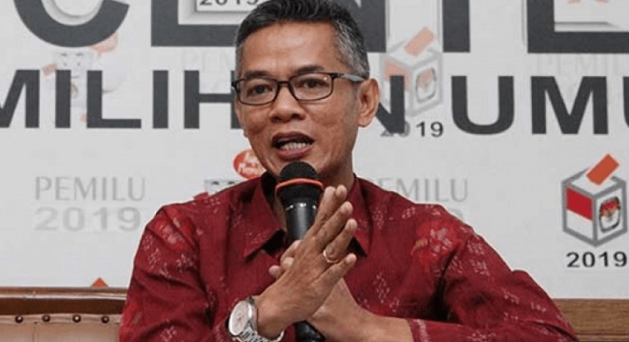 Komisioner KPU, Wahyu Setiawan.