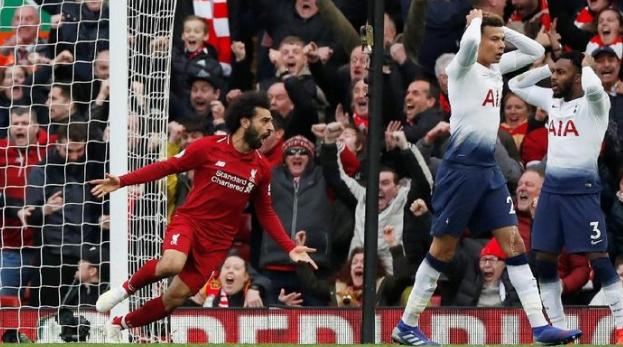 Liverpool mengalahkan Tottenham Hotspur 2-1 lewat gol di menit akhir. (Foto: Paul Childs/ Action Images via Reuters)