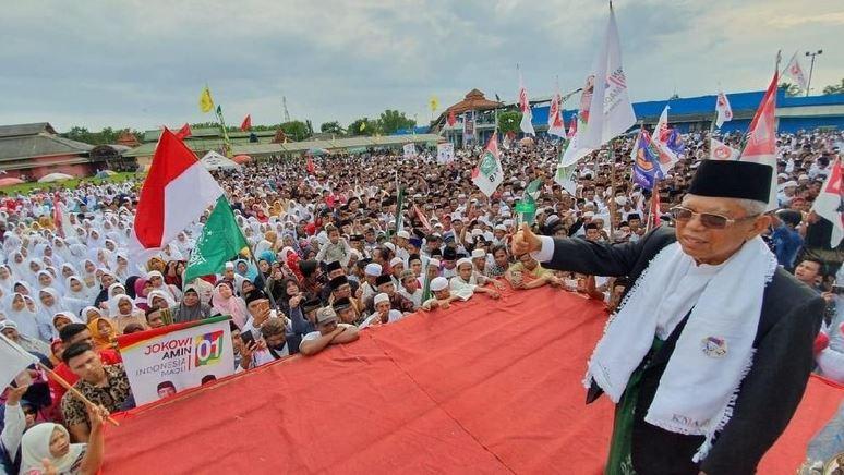 Ma'ruf Amin kampanye di Sumenep (Dok. TKN Jokowi-Ma'ruf).