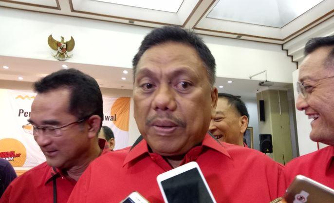 Ketua DPD PDI Perjuangan Sulawesi Utara PDIP Olly Dondokambey.